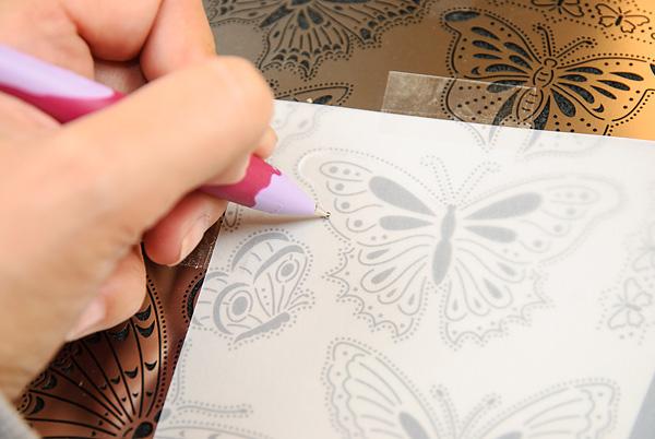 Pergamano Multi Grid 17 Butterflies