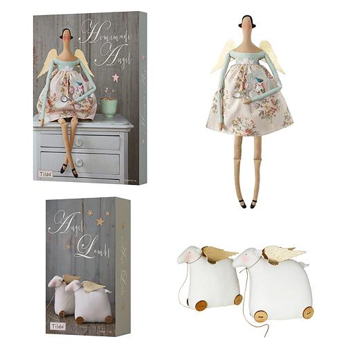 Коледни комплекти за шиене на кукли Тилда