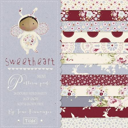 Tilda Sweetheart paper pad