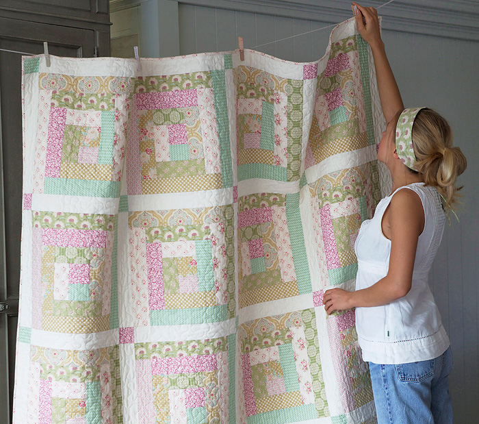 Apple Bloom quilt
